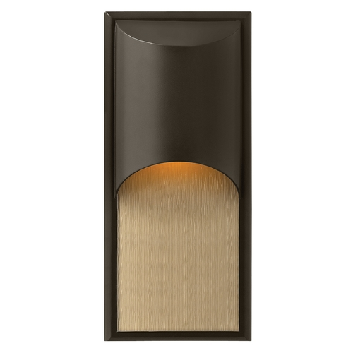 Hinkley Lighting Modern Outdoor Wall Light in Bronze Finish 1834BZ-GU24