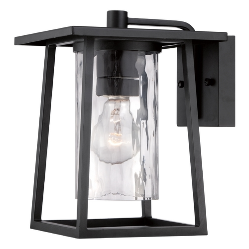 Quoizel Lighting Quoizel Lodge Mystic Black Outdoor Wall Light LDG8408K