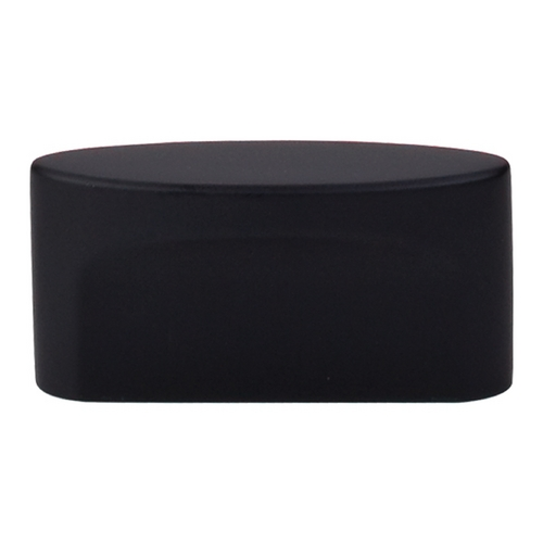 Top Knobs Hardware Modern Cabinet Knob in Flat Black Finish TK74BLK