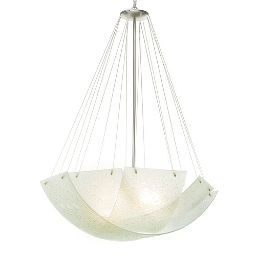 Kalco Lighting Seeded Glass Pendant 5099SN