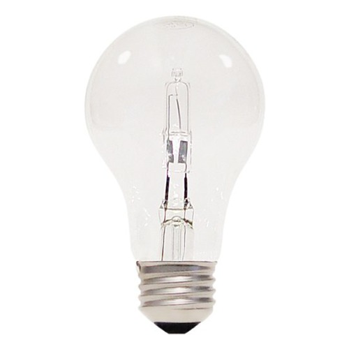 Satco Lighting Clear A19 Light Bulb - 75-Watt Equivalent S2403
