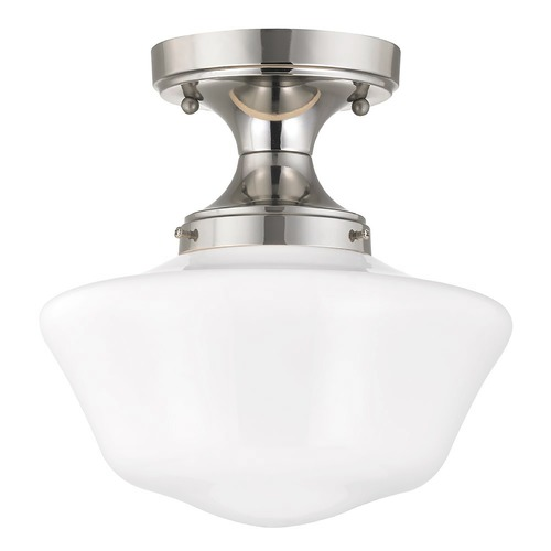 Design Classics Lighting 10-Inch Wide Schoolhouse Ceiling Light FDS-15 / GA10