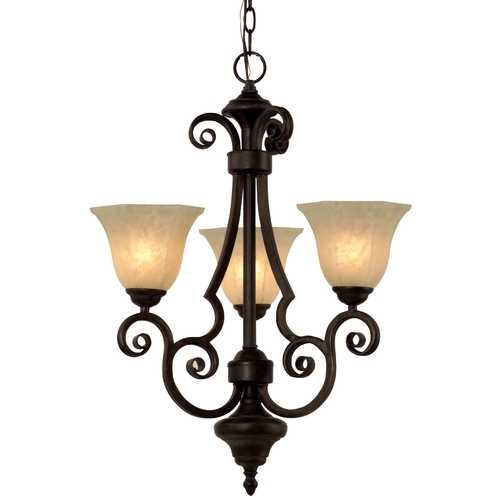 Dolan Designs Lighting Three-Light Chandelier 776-34