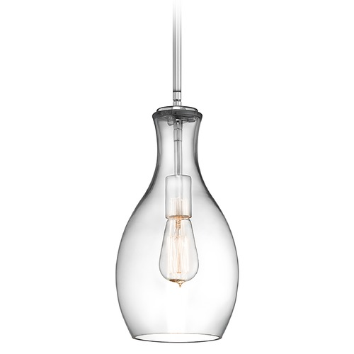 Kichler Lighting Kichler Lighting Everly Chrome Mini-Pendant Light 42456CHCLR