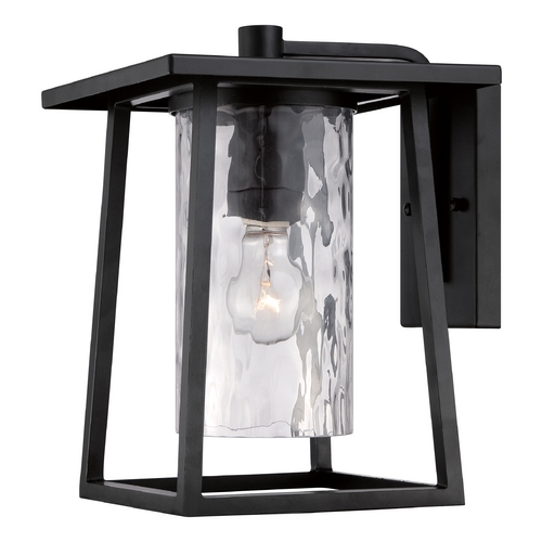 Quoizel Lighting Quoizel Lodge Mystic Black Outdoor Wall Light LDG8409K