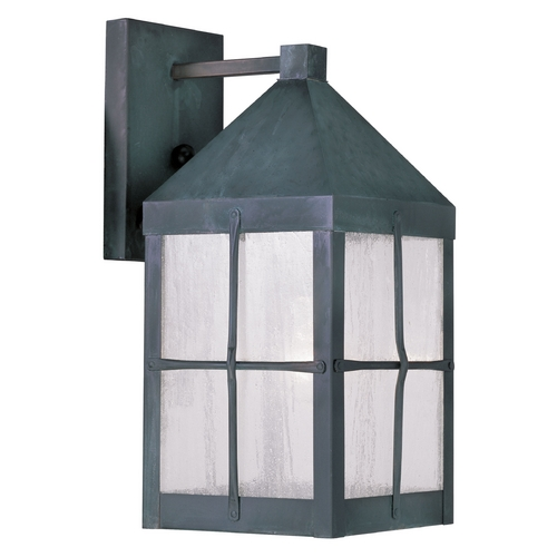 Livex Lighting Livex Lighting Brighton Hammered Charcoal Outdoor Wall Light 2681-61