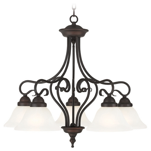 Livex Lighting Livex Lighting Coronado Bronze Chandelier 6135-07