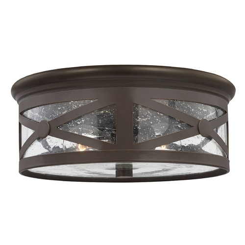 Sea Gull Lighting Sea Gull Lighting Lakeview Antique Bronze Close To Ceiling Light 7821402-71
