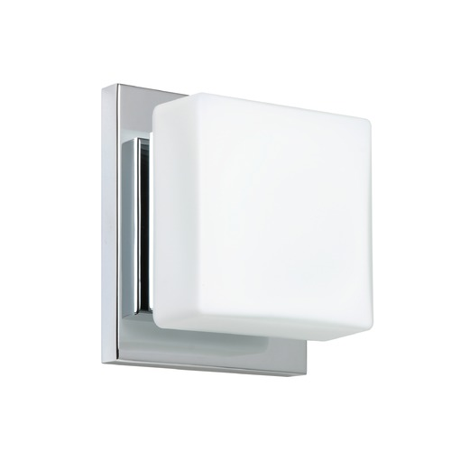 Besa Lighting Besa Lighting Alex Chrome LED Sconce 1WS-773507-LED-CR