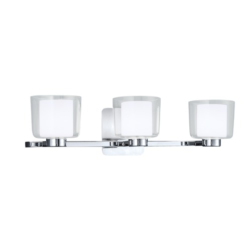 Norwell Lighting Norwell Lighting Alexus Chrome Bathroom Light 5333-CH-CL