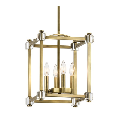 Kichler Lighting Kichler Lighting Cayden Natural Brass Pendant Light 43917NBR