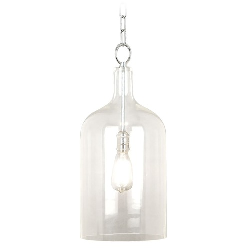 Kenroy Home Lighting Modern Mini-Pendant Light with Clear Glass 91830CLR