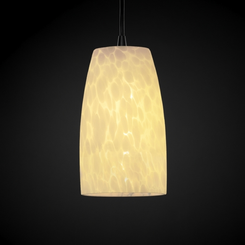 Justice Design Group Justice Design Group Fusion Collection Mini-Pendant Light FSN-8816-28-DROP-DBRZ