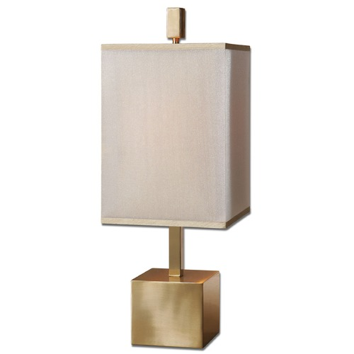 Uttermost Lighting Uttermost Flannigan Brass Accent Lamp 29939-1