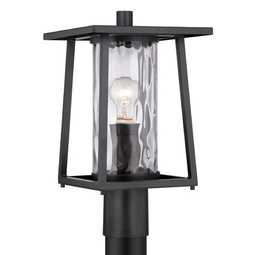 Quoizel Lighting Quoizel Lodge Mystic Black Post Light LDG9009K