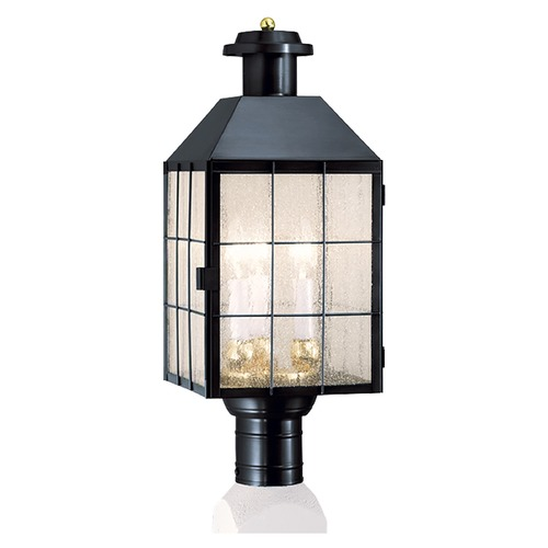 Norwell Lighting Norwell Lighting American Heritage Black Post Light 1056-BL-SE