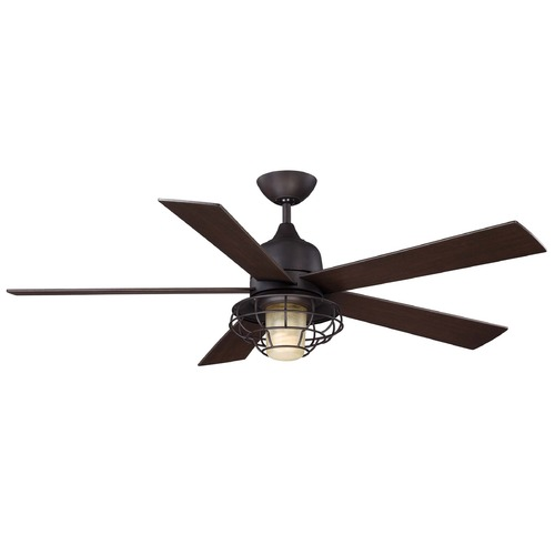 Savoy House Savoy House English Bronze Ceiling Fan with Light 52-624-5CN-13