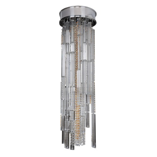 Allegri Lighting Zurbaran 9 Light Convertible / Pendant Or Flush Mount 11128-010-FR001