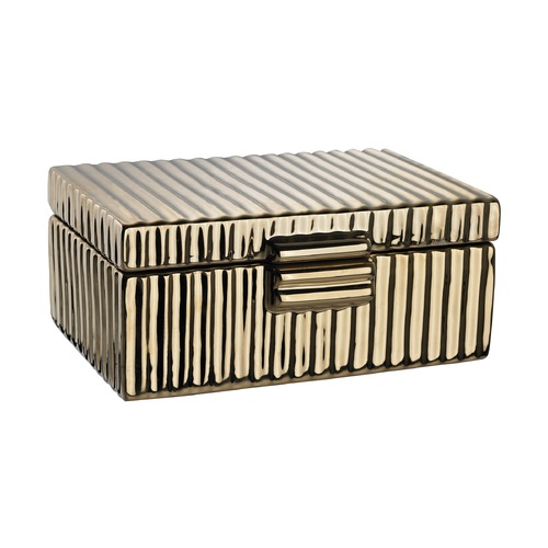 Dimond Lighting Ceramic Golden Jewelry Box 167-008