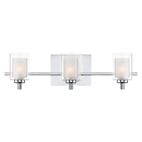 Quoizel Lighting Quoizel Lighting Kolt Polished Chrome Bathroom Light KLT8603CLED