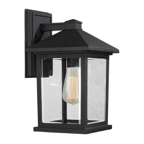 Z-Lite Z-Lite Portland Black Outdoor Wall Light 531M-BK