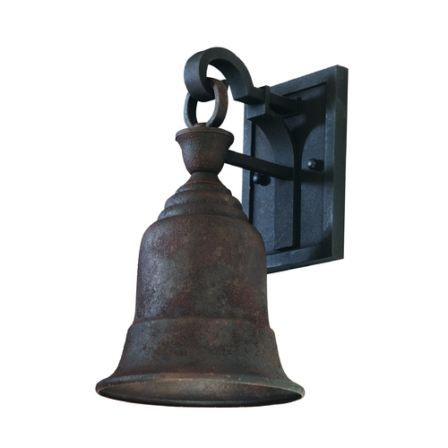 Troy Lighting Outdoor Wall Light in Cenntinial Rust Finish BF2361CR