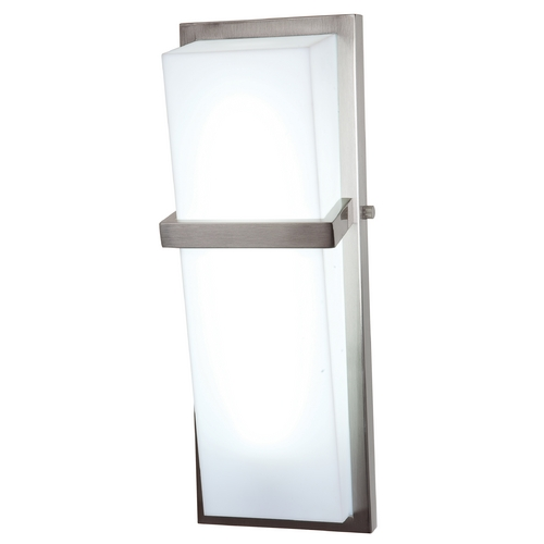 Access Lighting Sierra Brushed Steel Bathroom Light - Vertical Mounting Only 31025-BS/ACR
