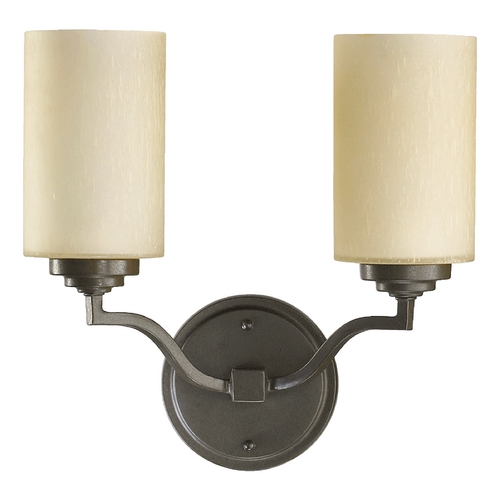 Quorum Lighting Quorum Lighting Atwood Oiled Bronze Bathroom Light 5496-2-86
