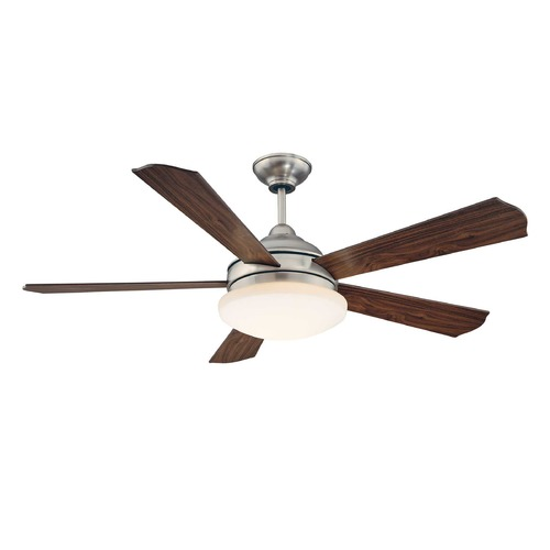 Savoy House Savoy House Satin Nickel Ceiling Fan with Light 52-771-5BW-SN