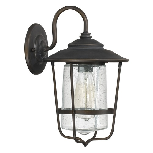 Capital Lighting Capital Lighting Creekside Old Bronze Outdoor Wall Light 9601OB