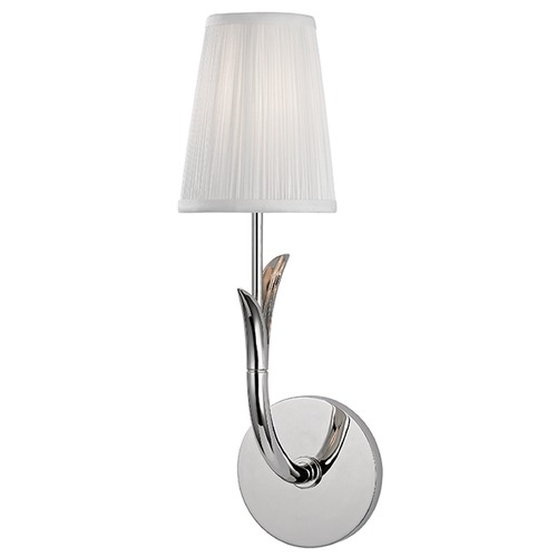 Hudson Valley Lighting Deering 1 Light Sconce - Polished Nickel 9401-PN
