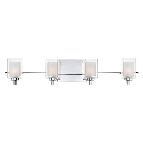 Quoizel Lighting Quoizel Lighting Kolt Polished Chrome Bathroom Light KLT8604CLED