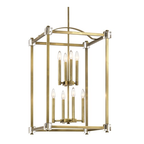 Kichler Lighting Kichler Lighting Cayden Natural Brass Pendant Light 43919NBR