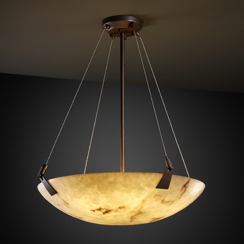 Justice Design Group Justice Design Group Lumenaria Collection Pendant Light FAL-9647-35-DBRZ
