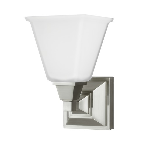 Sea Gull Lighting Sea Gull Lighting Denhelm Brushed Nickel Sconce 4150401BLE-962