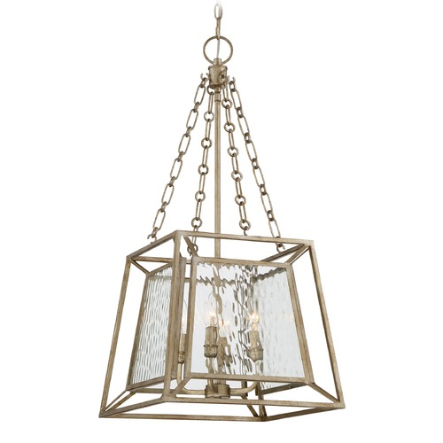 Quoizel Lighting Quoizel Lighting Lakeside Vintage Gold Pendant Light LKE5204VG