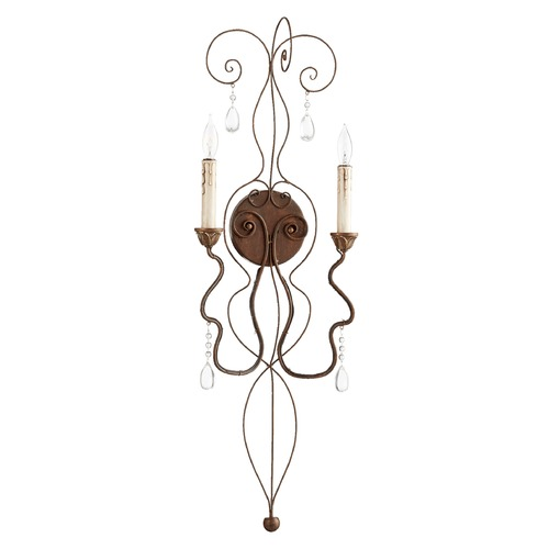 Quorum Lighting Quorum Lighting Venice Vintage Copper Sconce 5544-2-39