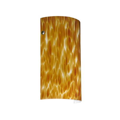 Besa Lighting Besa Lighting Tamburo Satin Nickel LED Sconce 704218-LED-SN