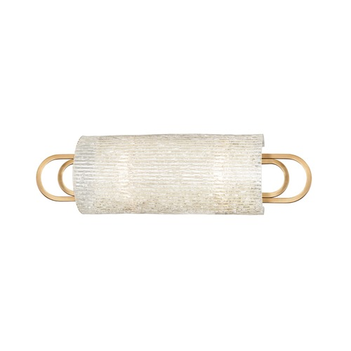 Hudson Valley Lighting Hudson Valley Lighting Buckley Aged Brass Bathroom Light 5842-AGB