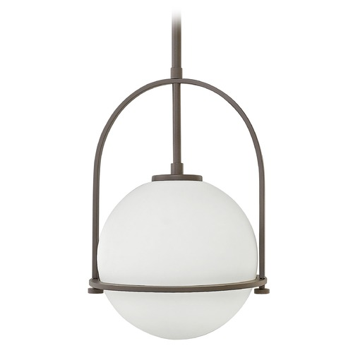 Hinkley Lighting Hinkley Lighting Somerset Buckeye Bronze Pendant Light with Globe Shade 3407KZ