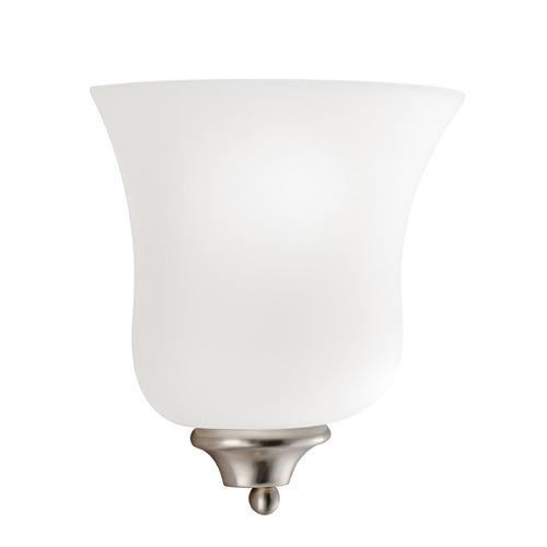 Kichler Lighting Kichler Lighting Wedgeport Brushed Nickel LED Sconce 6086NIL16