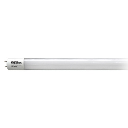 Satco Lighting LED T8 Bulb Bi-Pin 220 Degree Beam Spread 5000K 120V 32-Watt Fluorescent Equivalent Dimmable S9941