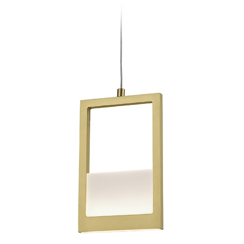 Kuzco Lighting Kuzco Lighting Ratio Brushed Brass LED Pendant Light PD31405-BB