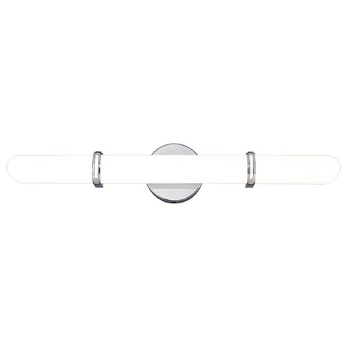 Hudson Valley Lighting Brighton Chrome Bathroom Light - Vertical or Horizontal Mounting 3604-PC