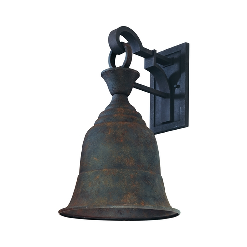 Troy Lighting Outdoor Wall Light in Cenntinial Rust Finish BF2363CR