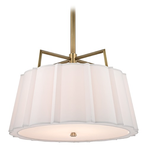 Hudson Valley Lighting Humphrey 4 Light Pendant Light - Aged Brass 4824-AGB