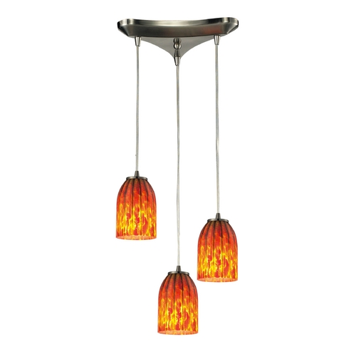 Elk Lighting Multi-Light Pendant Light 3-Lights 10335/3
