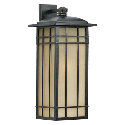 Quoizel Lighting Quoizel Hillcrest Imperial Bronze Outdoor Wall Light HCE8511IBFL