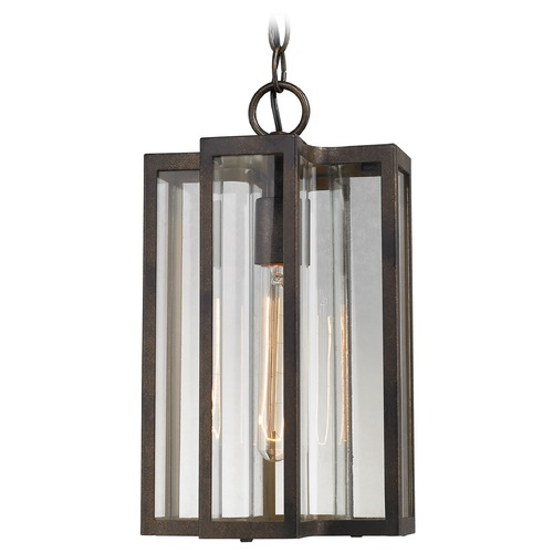 Elk Lighting Elk Lighting Bianca Hazelnut Bronze Outdoor Hanging Light 45147/1