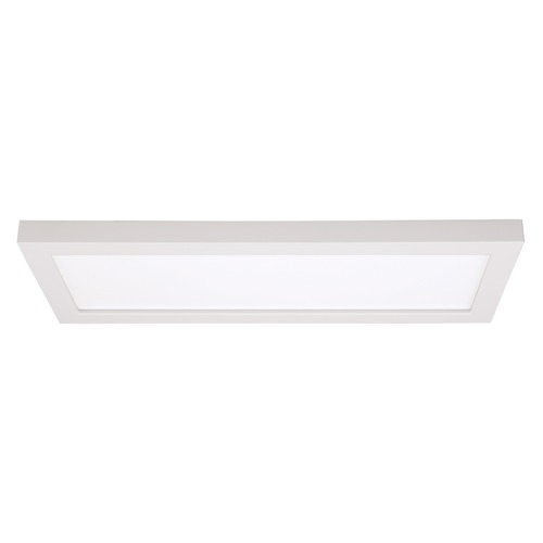 Satco Lighting Satco 7x18 Rectangle White LED Surface Mount Light 24W 3000K 1300LM S9369